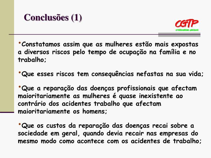 Conclusões (1)