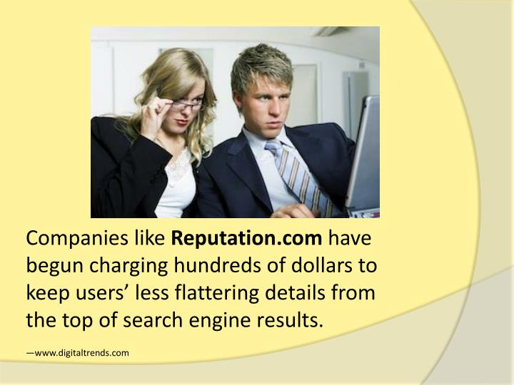 Companies like