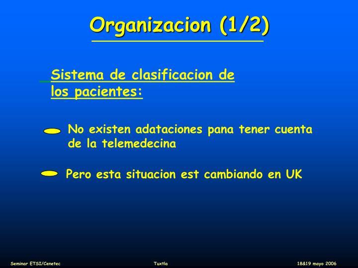 Organizacion (1/2)
