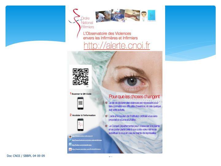 Doc CNOI / SBBPL 04 09 09