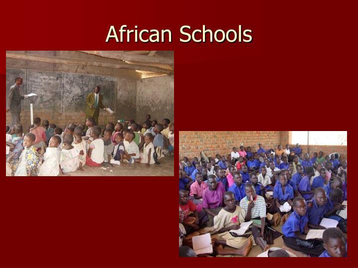 African Schools