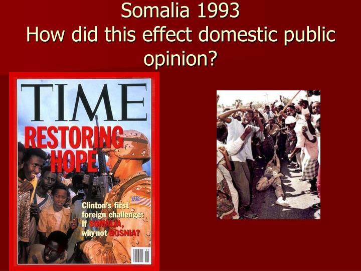 Somalia 1993
