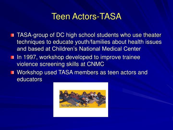 Teen Actors-TASA