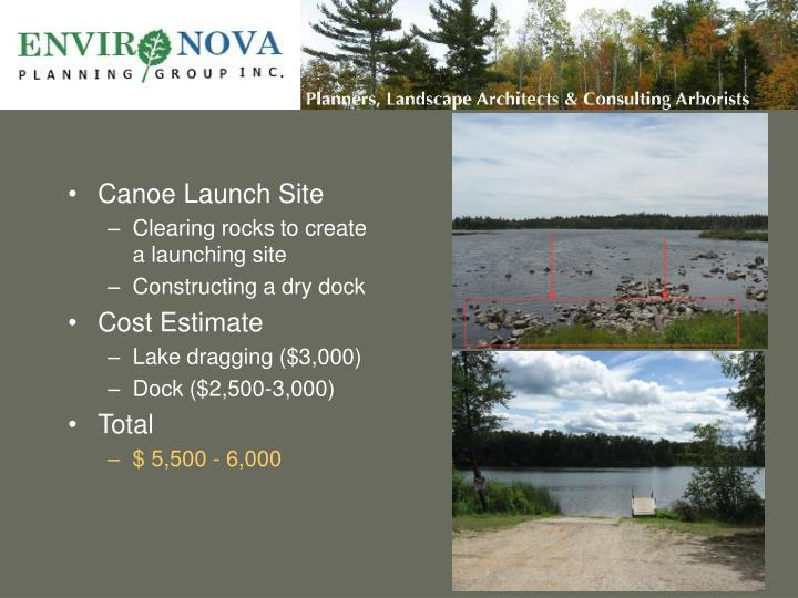 Canoe Launch Site