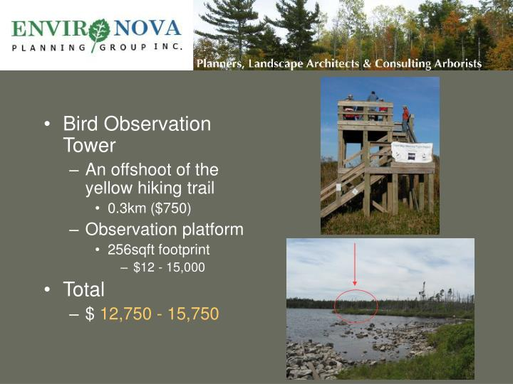 Bird Observation Tower