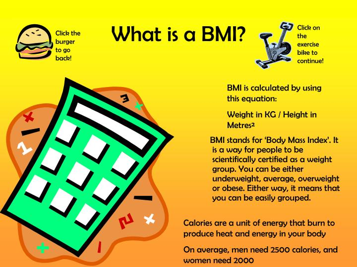 What is a BMI?