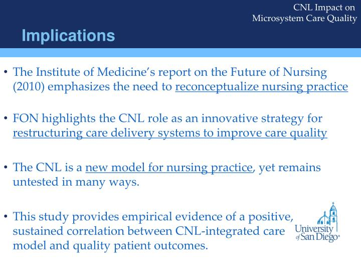 innovative nursing care delivery models Nursing leadership at morristown medical center, a magnet-designated, 600-plus bed tertiary care center, in response to forces, such as health care reform, and recommendations, such as those outlined in the institute of medicine report the future of nursing, developed an innovative model of care delivery called the partners in caring.