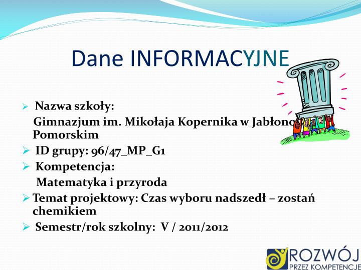 Dane INFORMAC