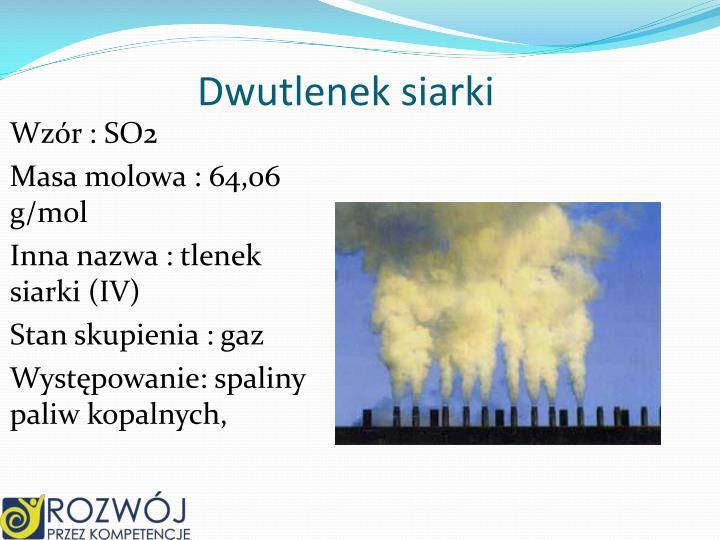 Dwutlenek siarki