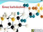 kwasy karboksylowe
