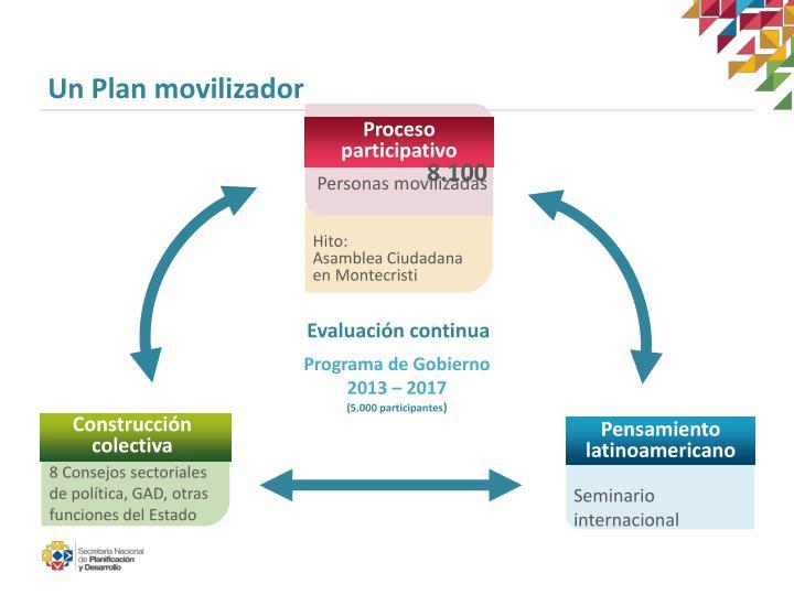 Un Plan movilizador
