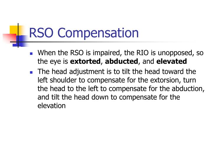 RSO Compensation