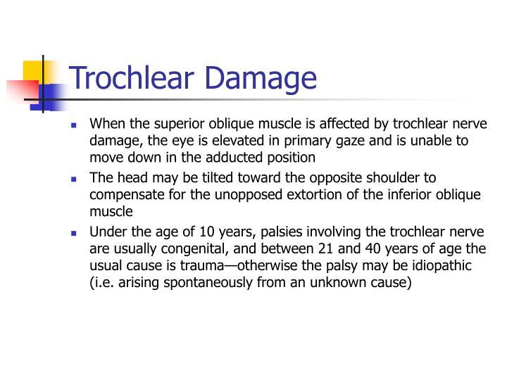 Trochlear Damage
