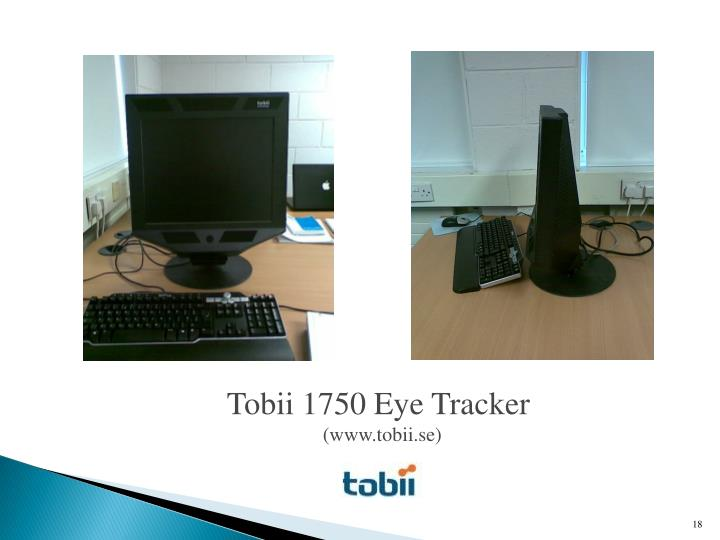 Tobii 1750 Eye Tracker