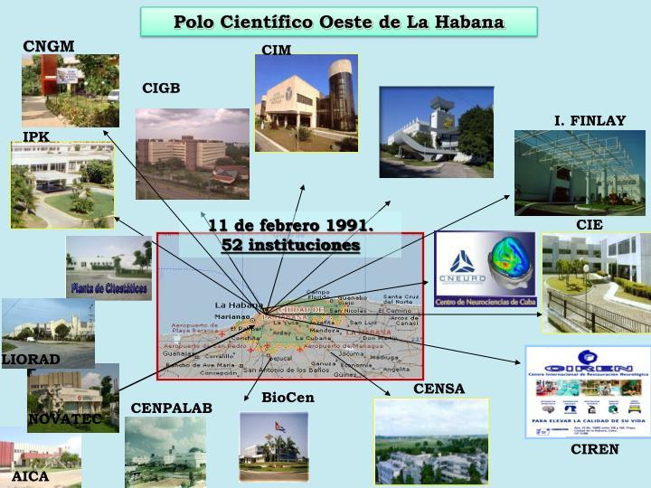 Polo Científico Oeste de La Habana