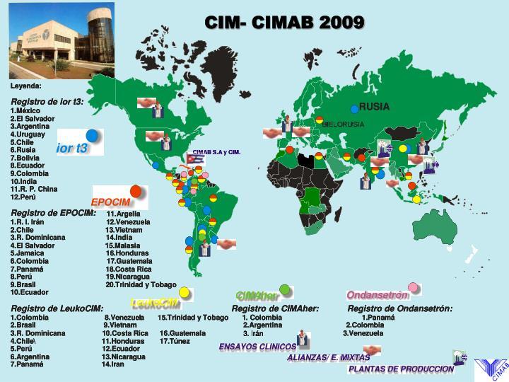 CIM- CIMAB