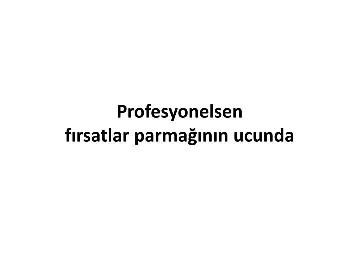 Profesyonelsen