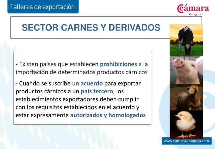 SECTOR CARNES Y DERIVADOS
