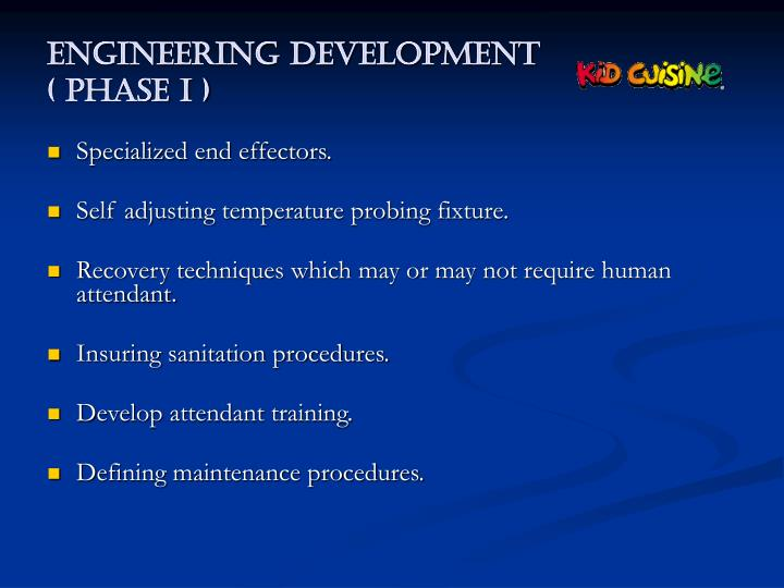 Engineering development