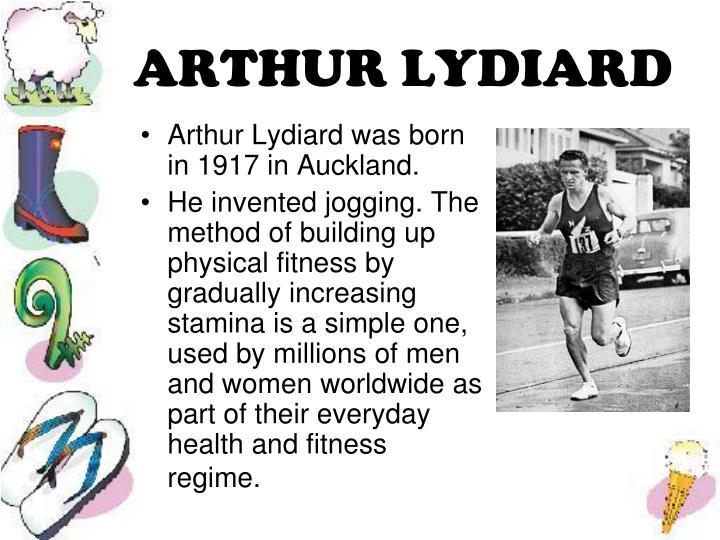ARTHUR LYDIARD