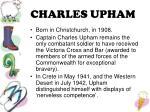 charles upham
