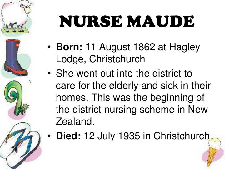 NURSE MAUDE