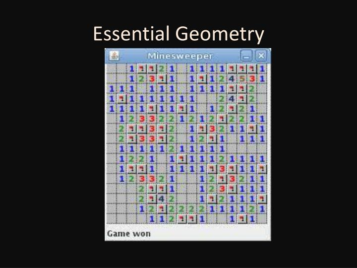 Essential Geometry
