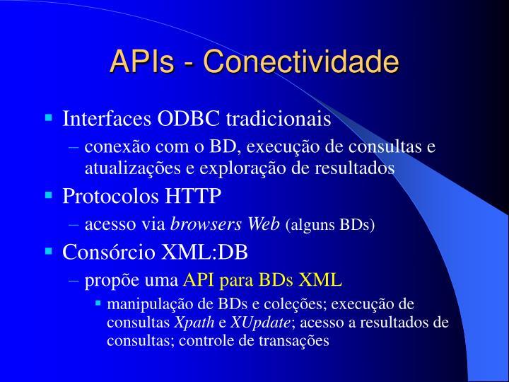 APIs - Conectividade