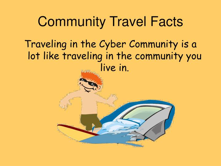 Community Travel Facts