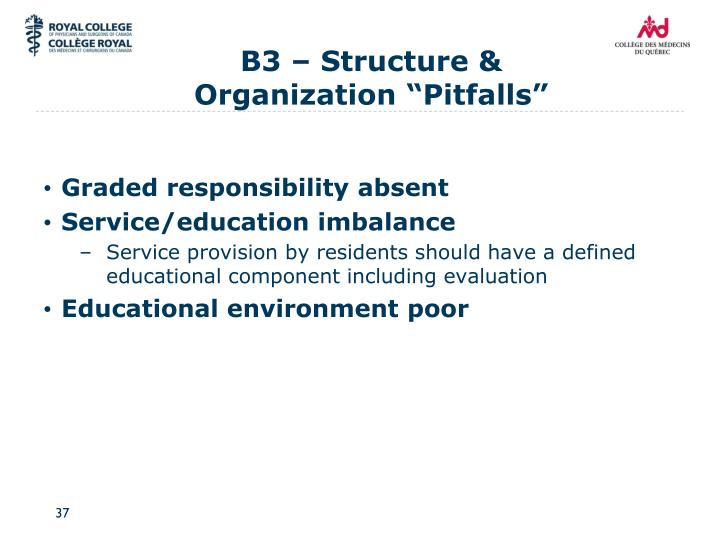 B3 – Structure &