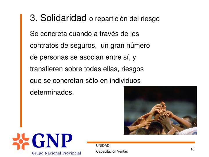 3. Solidaridad