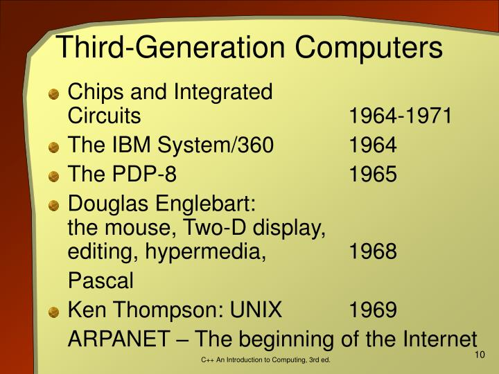 Third-Generation Computers