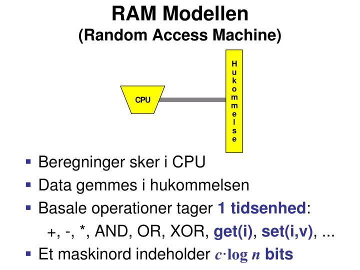 RAM Modellen