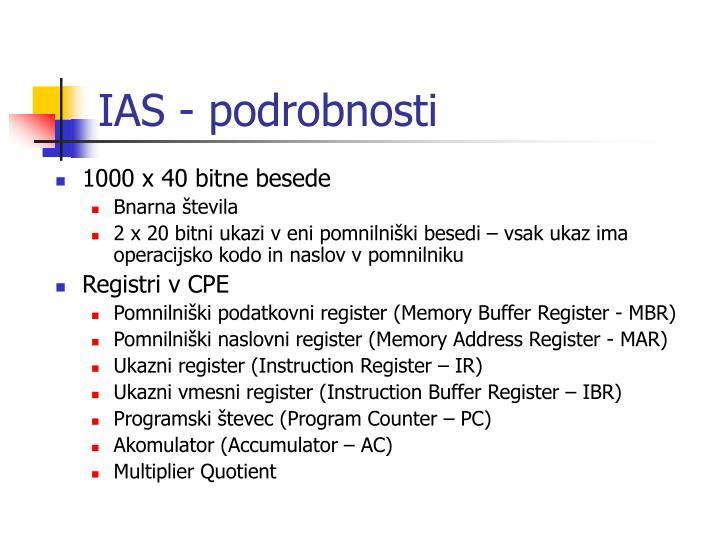 IAS -