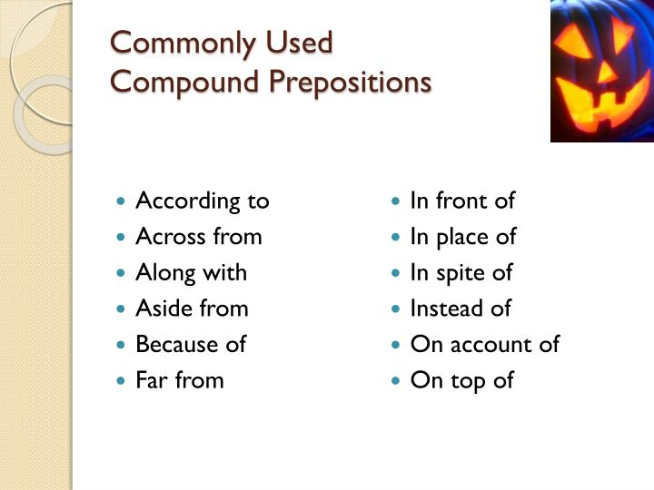 Commonly Used