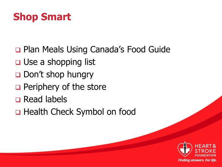 Shop Smart