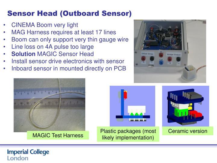 Sensor Head (Outboard Sensor)