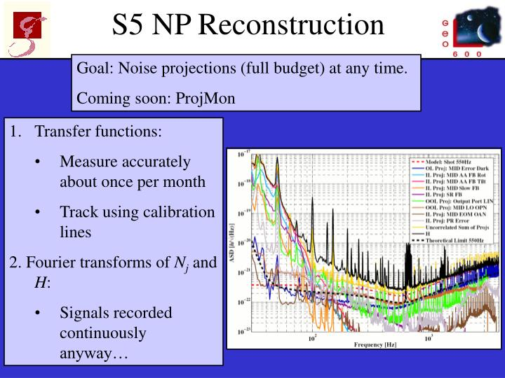S5 NP Reconstruction