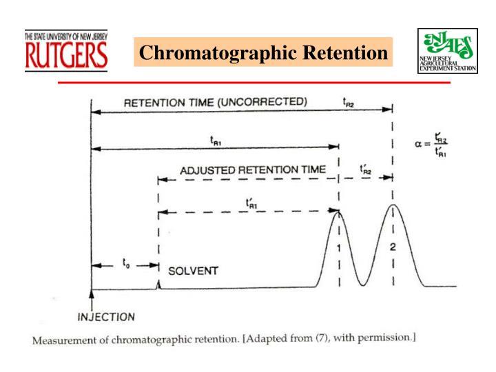 Chromatographic Retention