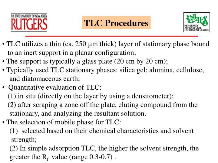 TLC Procedures