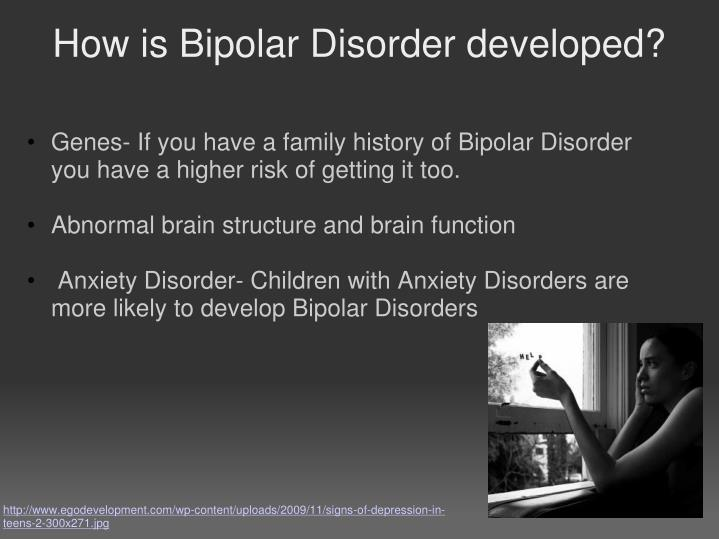 bipolar disorder short presentation Diagnosis of bipolar i and bipolar ii disorders bipolar i disorder is differentiated is considered the most common presentation of premature, or short.