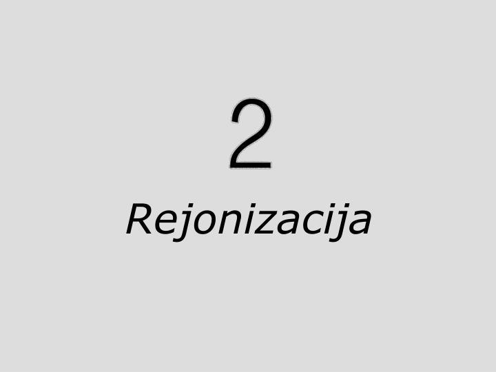 Rejonizacija