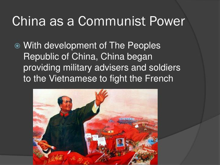 China as a Communist Power