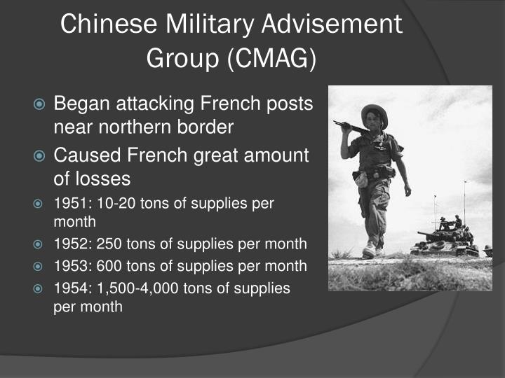 Chinese Military Advisement Group (CMAG)