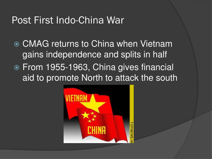 Post First Indo-China War