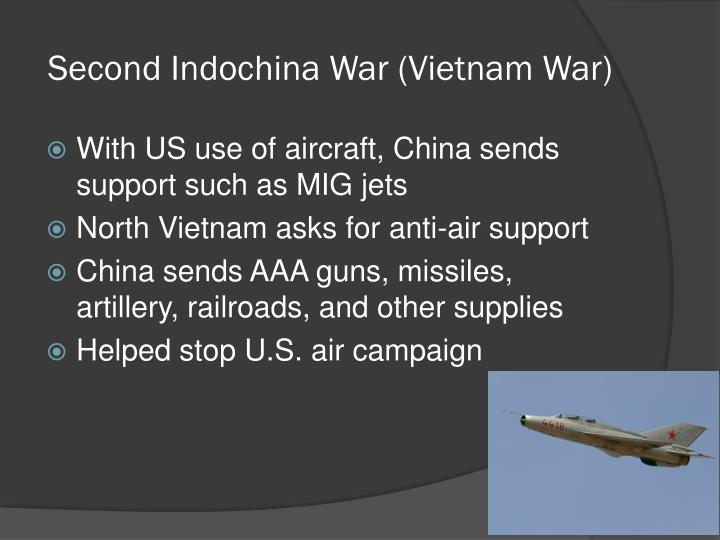 Second Indochina War (Vietnam War)