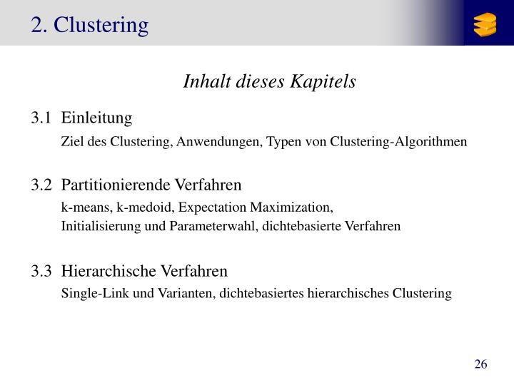 2 clustering