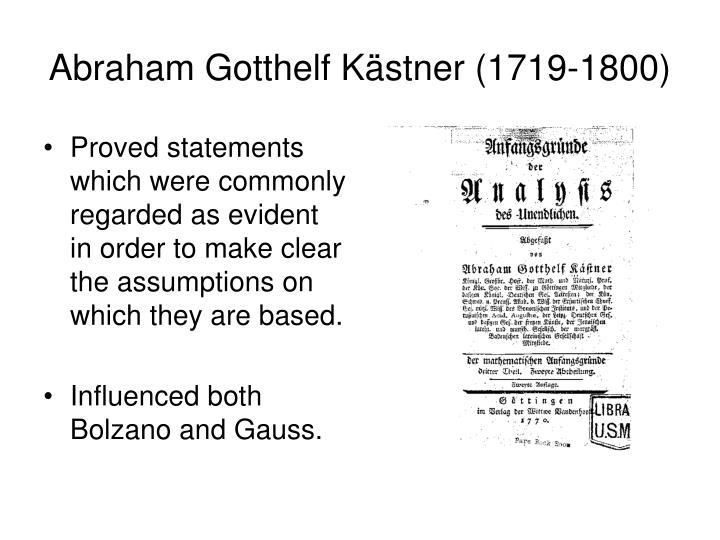 Abraham Gotthelf K