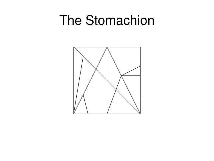 The Stomachion