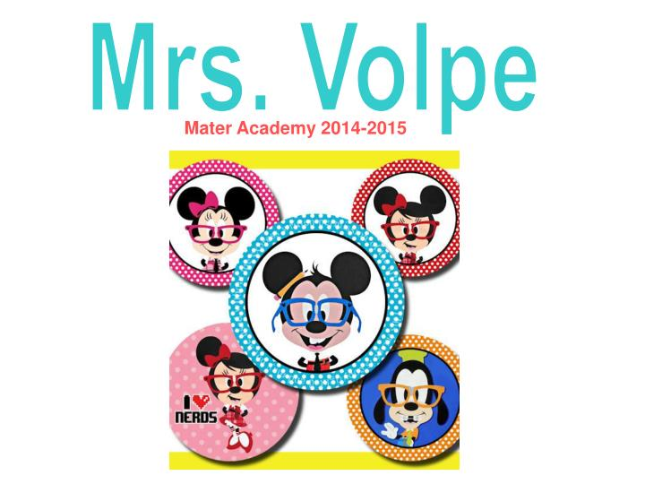 Mrs. Volpe